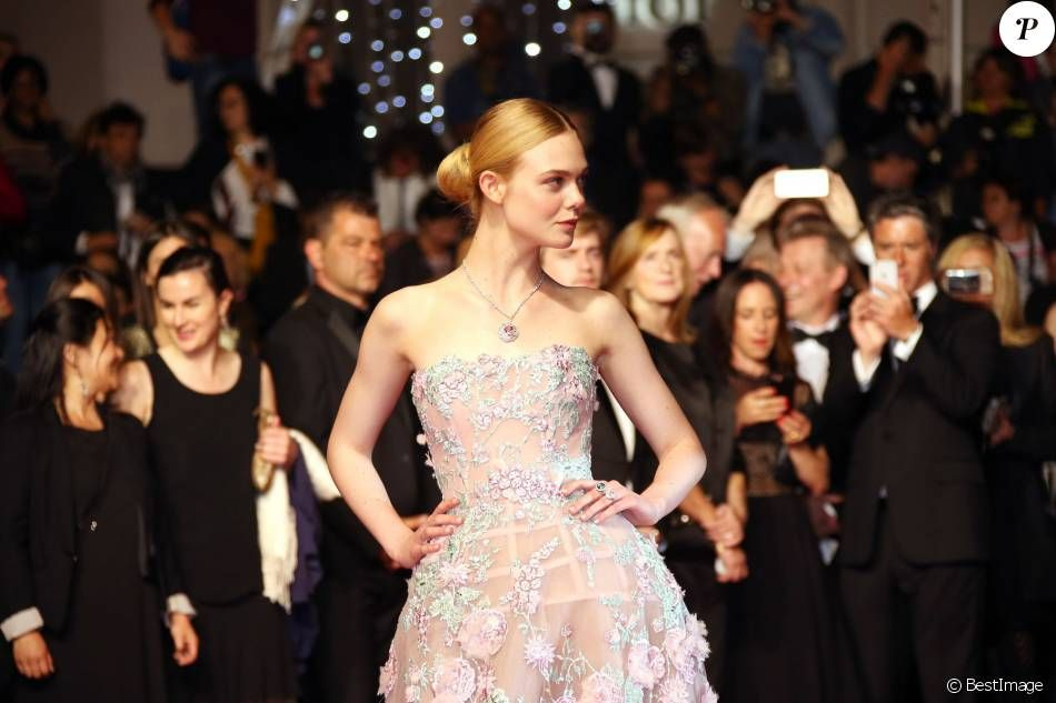 #cannes #festivaldecannes #cannes2016 #star #people #fashion #redcarpet #ellefanning