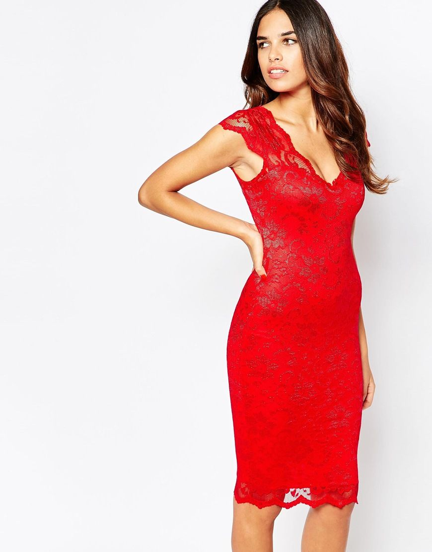 Jessica wright isla lace mid dress fashion and design pinterest