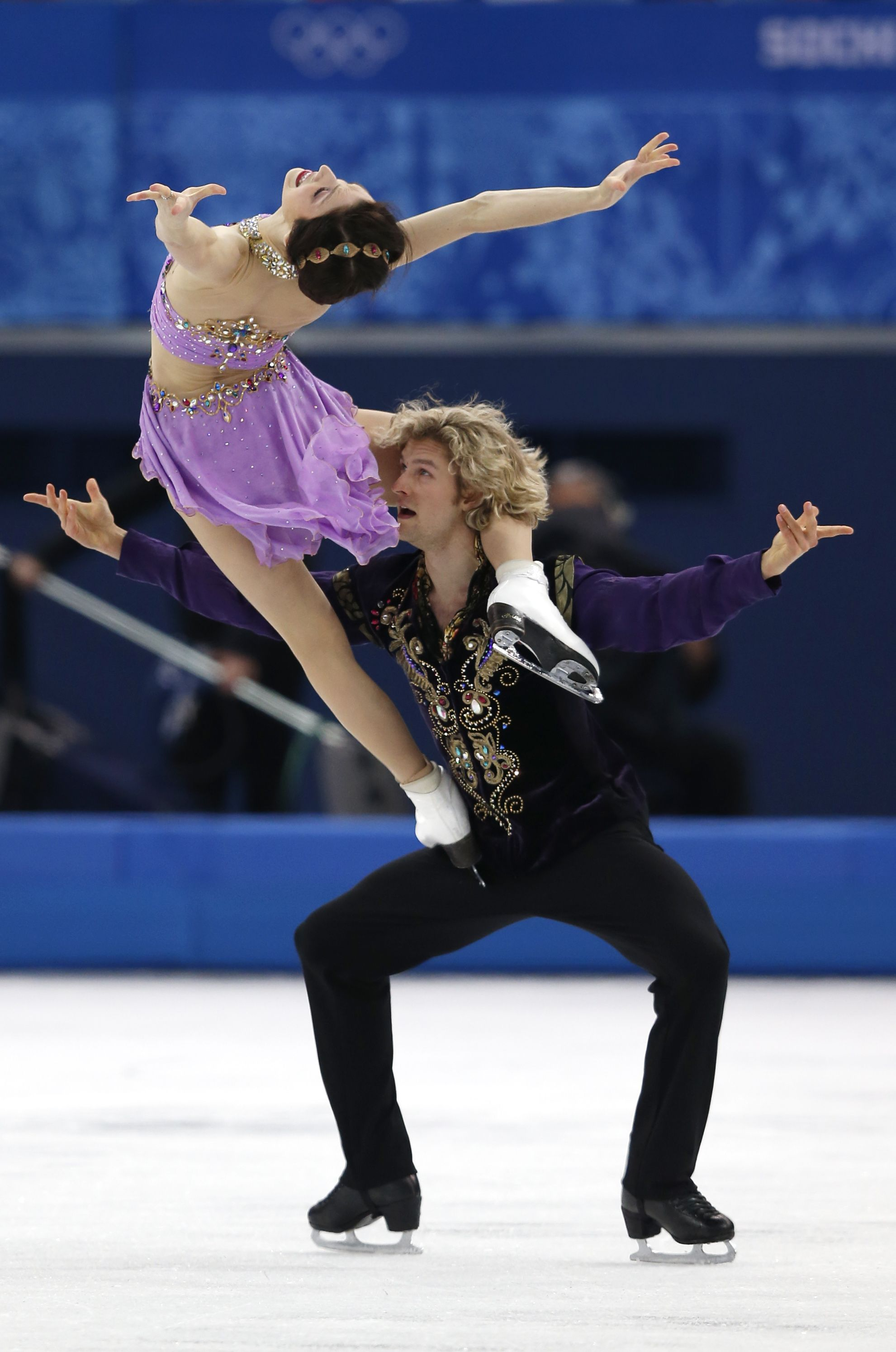 Meryl Davis and Charlie White won gold in 2014 in Sochi
