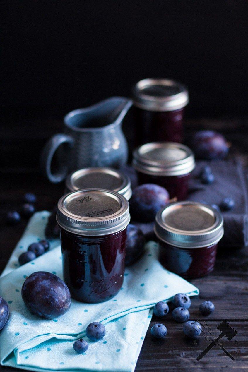 zwetschgen heidelbeer marmelade rezept preserved haltbar gemacht heidelbeer marmelade. Black Bedroom Furniture Sets. Home Design Ideas