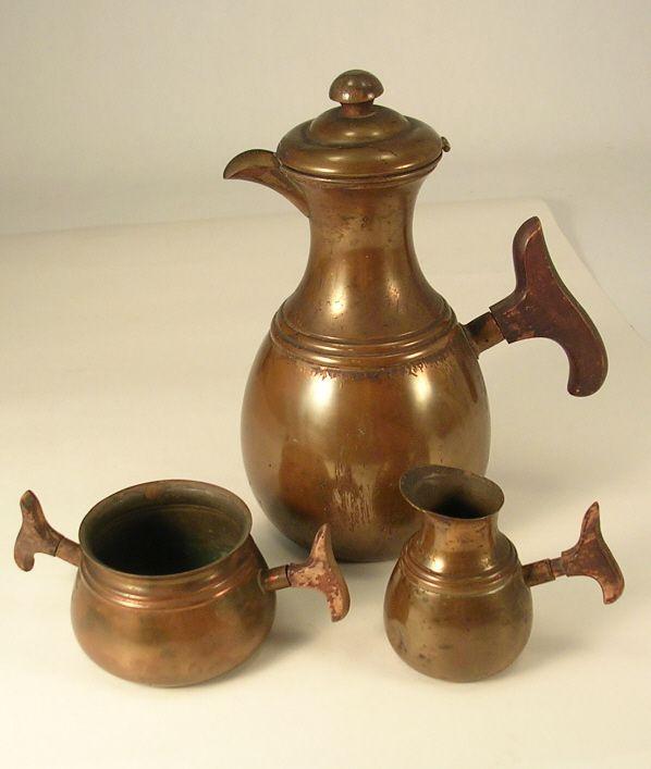 Copper Coffee Set