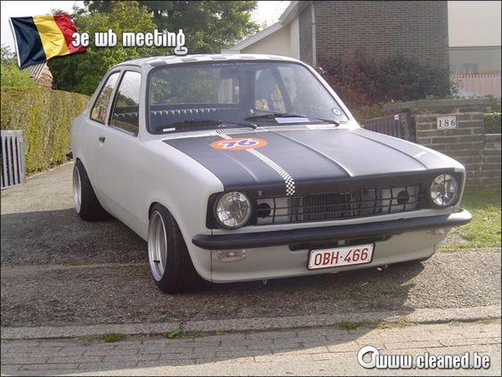 Resultado De Imagem Para Opel Kadett C Tuning Chevette Chevete Chevy