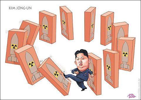 Kim Jong un ameaça usar armas nucleares