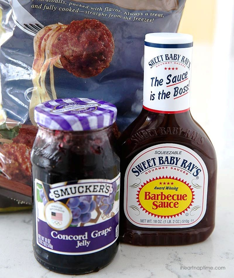 Bbq Wedding Reception Food Ideas: Wedding Food Ideas: Crock Pot Grape Jelly & BBQ Meatballs