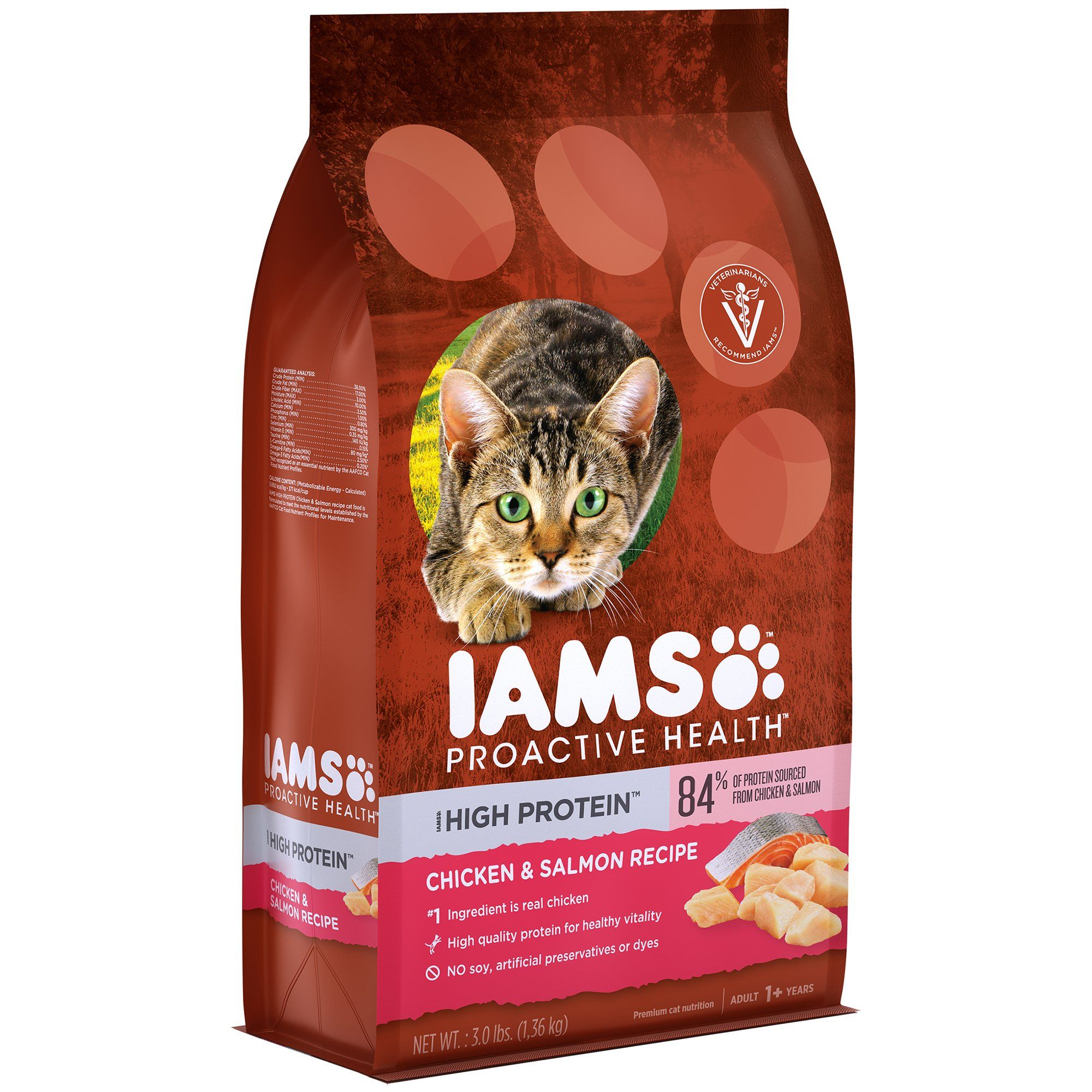 Iams Proactive Health High Protein Adult Dry Cat Food 3 0 Pounds Click Image To Review More Details This Is An Dry Cat Food High Protein Cat Food