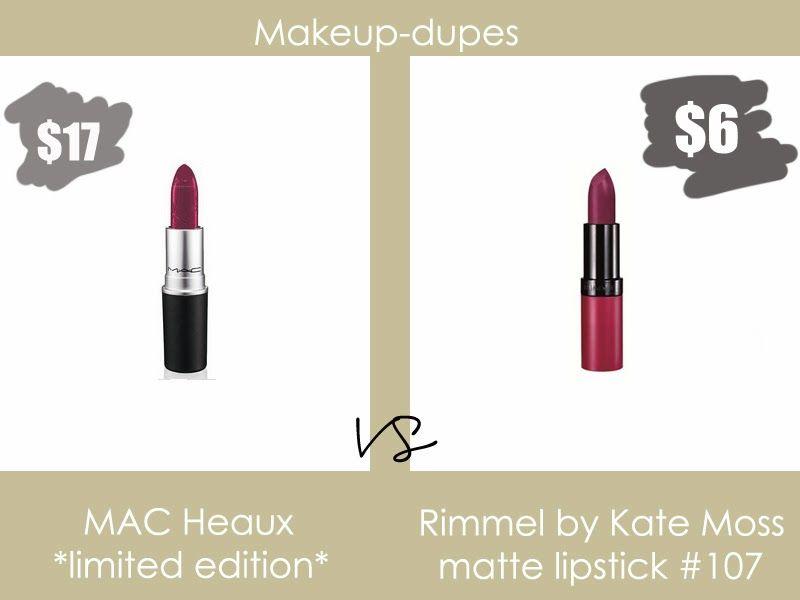 Makeup dupes: MAC Heaux dupe