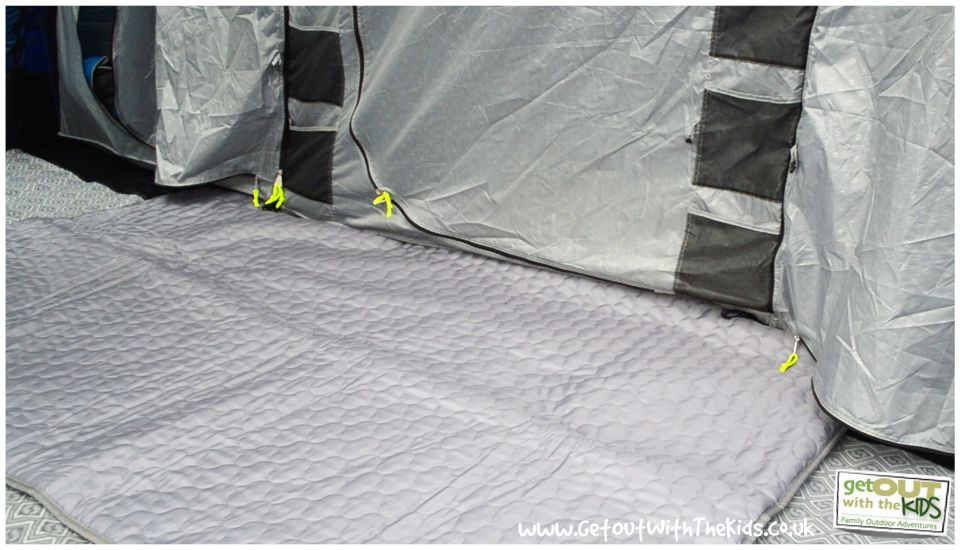 Hereu0027s another new way to heat your tent underfloor heating! We review the Outwell & Hereu0027s another new way to heat your tent: underfloor heating! We ...