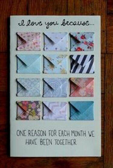 Diy Birthday Card For Boyfriend Handmade Gift Christmas Presents