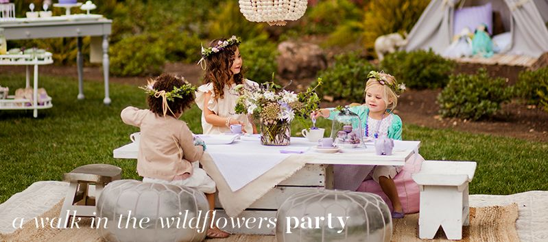 Wildflowers Party   Pottery Barn Kids