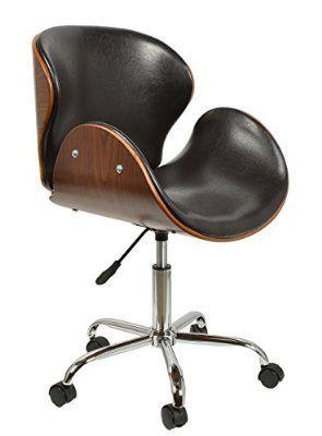 Schreibtischstuhl modern  ts-ideen 1 x Schreibtischstuhl Drehsessel Retro Design Rollen ...