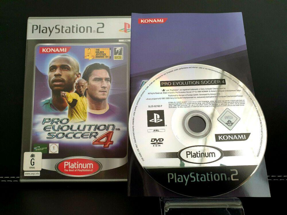 Pro Evolution Soccer 4 PES PS2 Game PlayStation 2 PAL