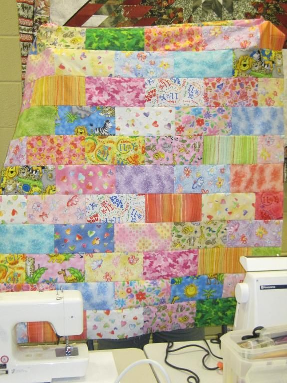 5 Easy Quilts for Beginners Using Precut Fabric | Bricks, Fabric ... : pre cut quilt patterns - Adamdwight.com