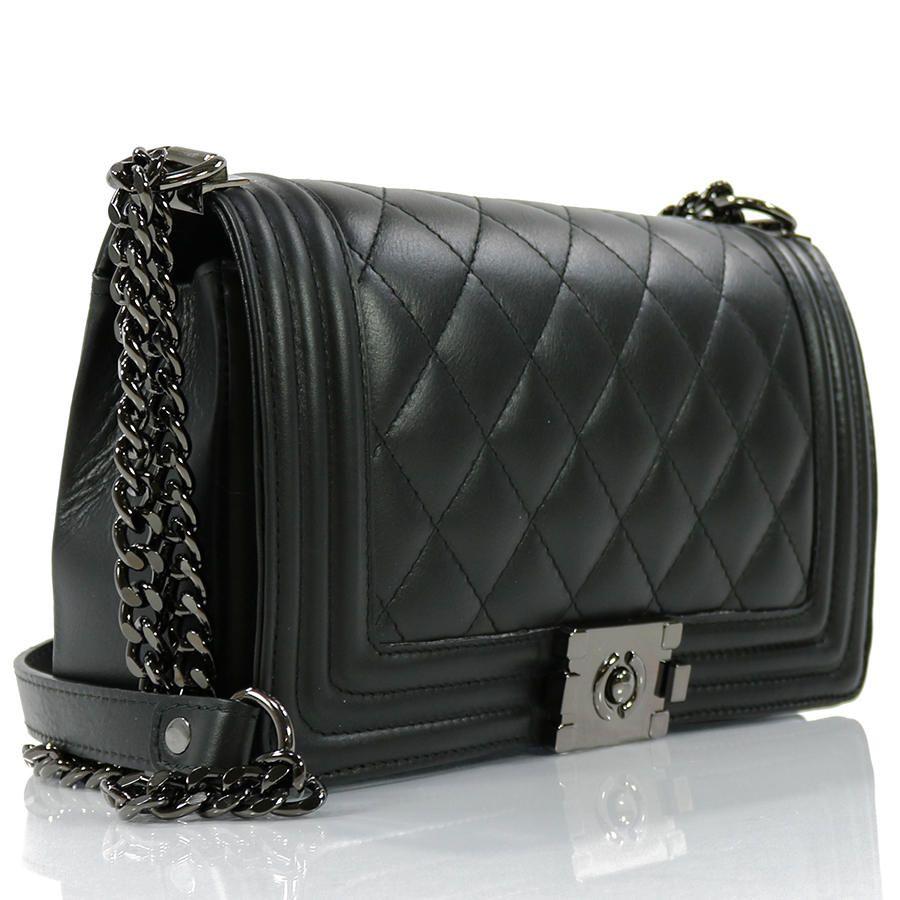 Ώμου   Passaggio Leather Bag Καπιτονέ Τσάντα Από Γνήσιο Δέρμα Handmade In  Italy Medium Size 489425e6862