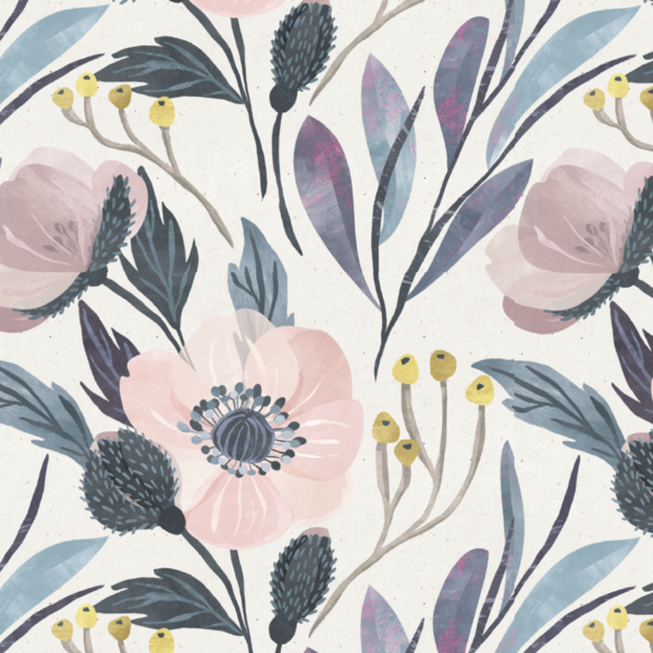 Welcome To Your Secret Garden This Large Scale Floral In