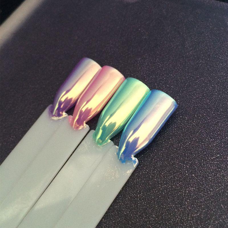 0.5g Top Aurora Neón Polvo de Pigmento Camaleón Sirena Polvo Super ...