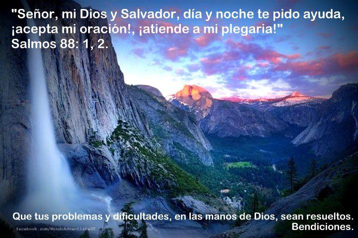 Te invitamos a leer Salmos 88:1,2. Que tus problemas y dificultades en las manos de Dios, sean resueltos. Bendiciones