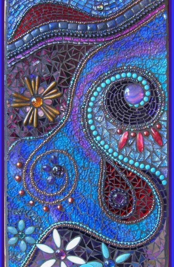 pin von marilyn evans auf mosaics pinterest mosaik kunsthandwerk und t ren. Black Bedroom Furniture Sets. Home Design Ideas