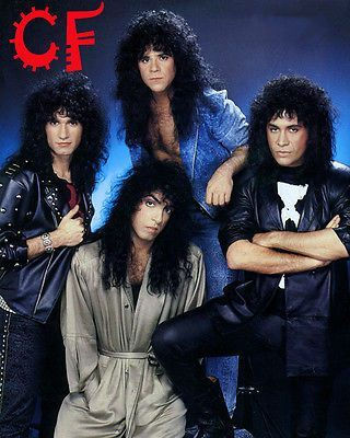 Kiss Group Photo With Ace Frehley Kiss Group Eric Carr Ace Frehley