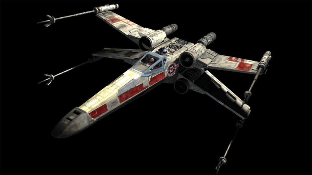 Sci Fi Fighters Incom X Wing Fighter From Star Wars Starwarsfacts Star Wars Spaceships Star Wars Ships Star Wars Vehicles