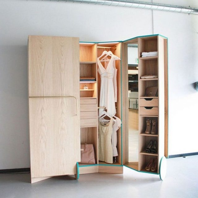 30+ Top Ways To Makes Functional Small Closets Ideas