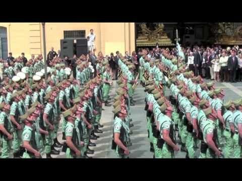 La Legión En La Semana Santa De Malaga 2012 Málaga Semana Santa La Legion