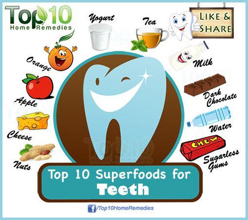 Top 10 Superfoods for Teeth | Diet | Top 10 superfoods ...