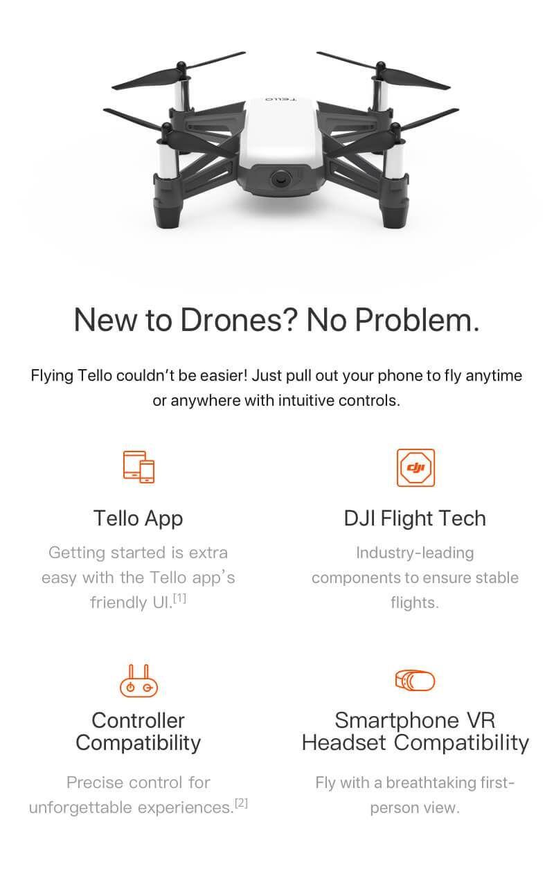 DJI Tello Mini Drone Universal Store LondonTM