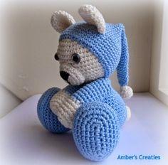 Tuto Amigurumi Ourson En Pyjama Tout Sur Le Crochet Et