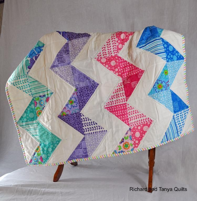 Chevron Baby Quilt Pinterest Chevron Baby Quilts Patterns And
