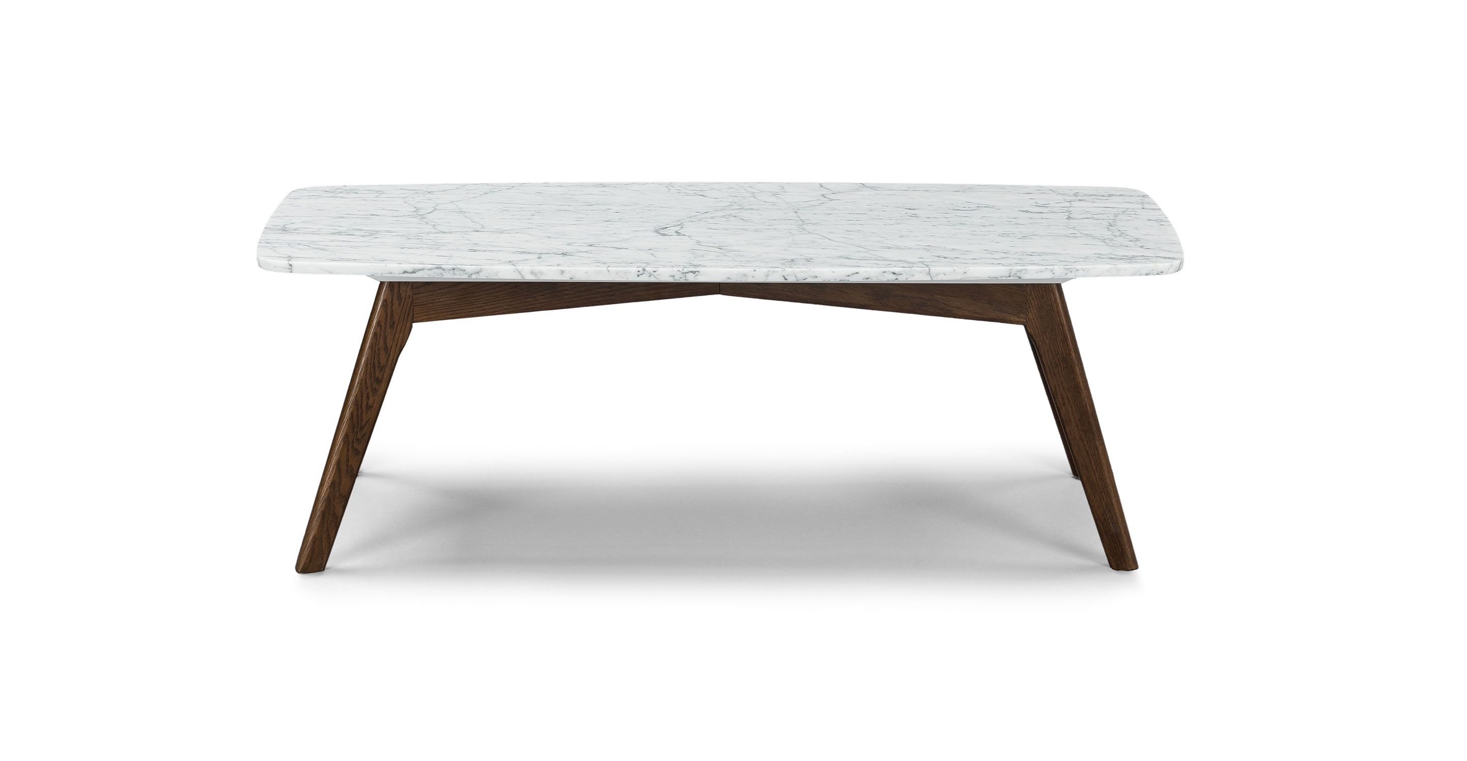 Vena Rectangular Coffee Table Coffee Tables Article Modern