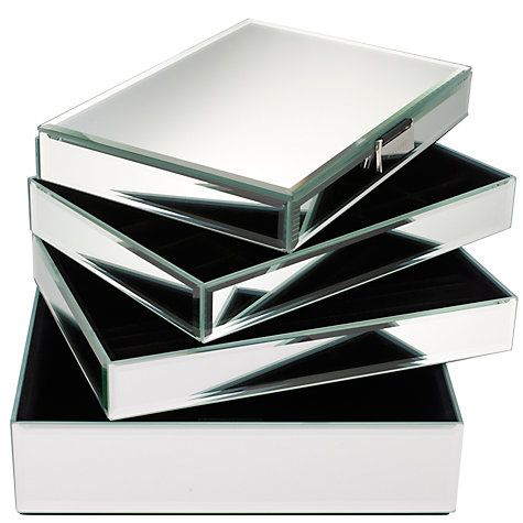 17e03abcc156 Stackers Glass Jewellery Boxes | Boxes♔ | Glass jewelry box ...