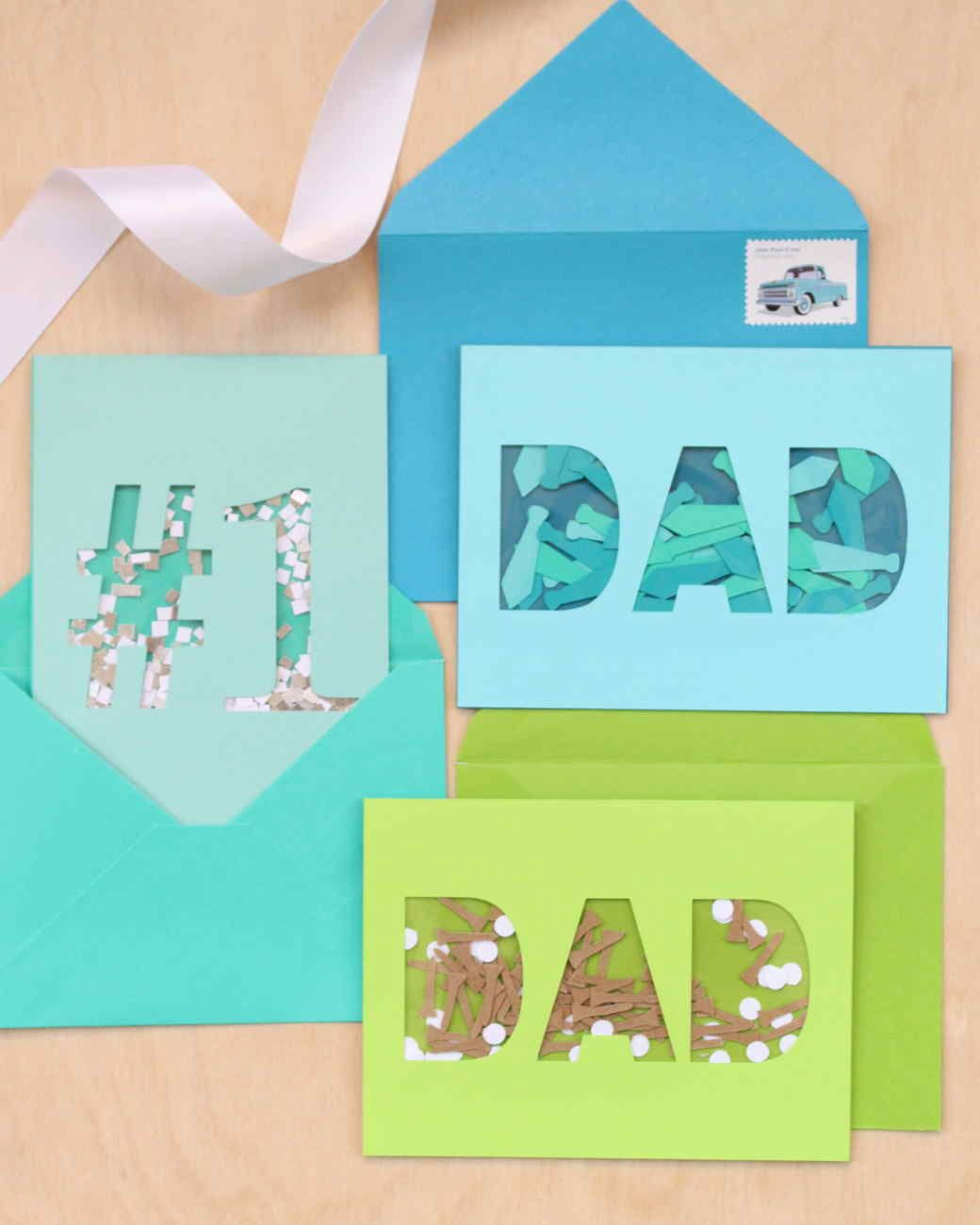 3bf99209 Give Dad something that shakes things up this Father's Day. It's a  confetti-filled card that includes his favorite things: neckties, golf  balls, ...