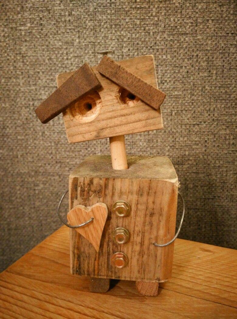 Wall E Metal Art Woodworking Crafts Wood Crafts Scrap