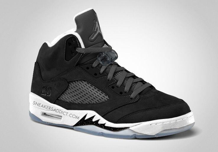 Nike Air Jordan Retro 5 Oreo