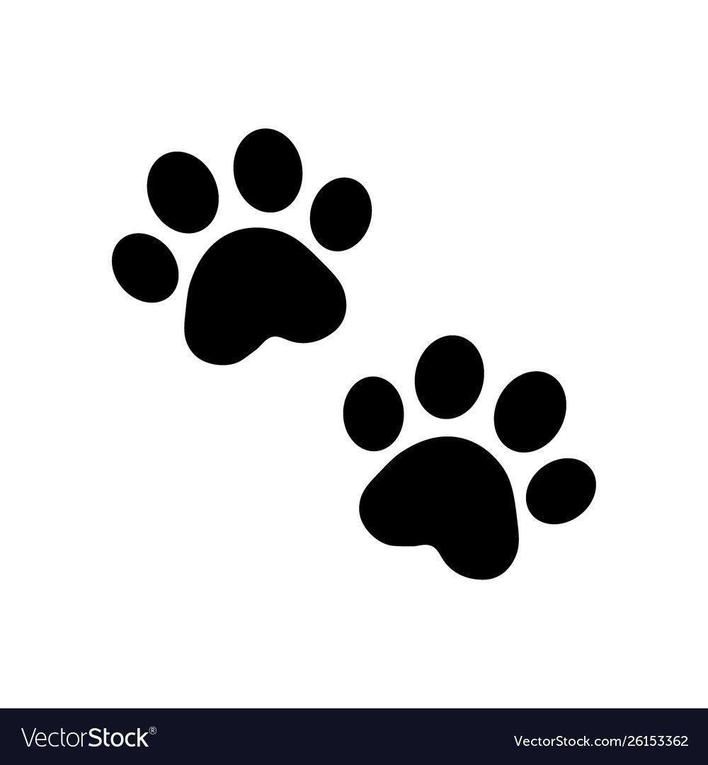Dog Paw Vector Footprint Icon Logo French Bulldog Cat Puppy Kitten Cartoon Symbol Sign Illustration Doodle Vector Downloa Dog Paw Tattoo Paw Tattoo Dog Paws