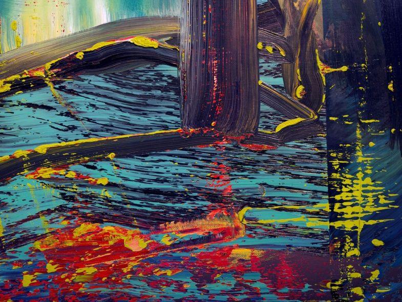 abstraktes bild 599 kunst gerhard richter abstrakte bilder abstrakt moderne schwarz weiß berühmte gemälde