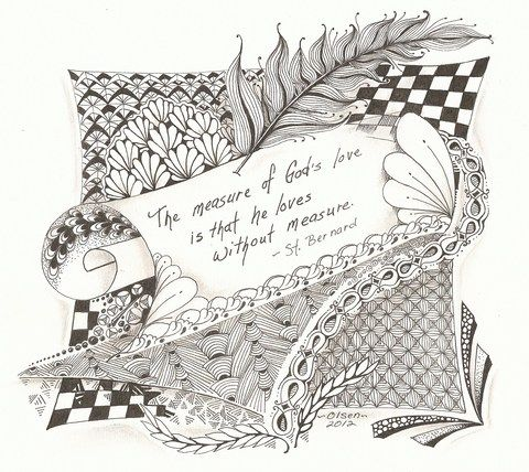 Zentangle_Inspired_Art: View Photo:Gift for a friend