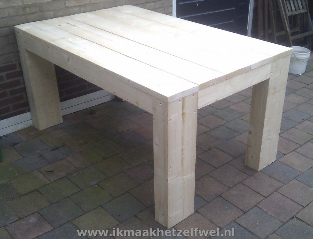 Steigerhouten Tafel Maken : Steigerhouten tafel maken bing afbeeldingen mijn favo s
