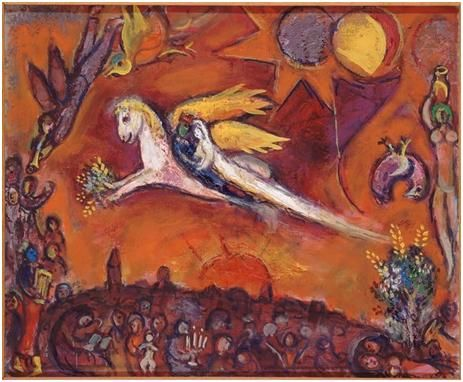 Marc Chagall, Cantico dei Cantici, IV