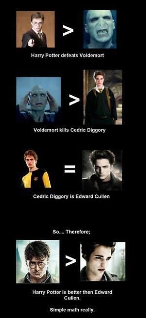 Aaammmmmmeeeeeennnnn Harry Potter Vs Twilight Twilight Funny Twilight Memes