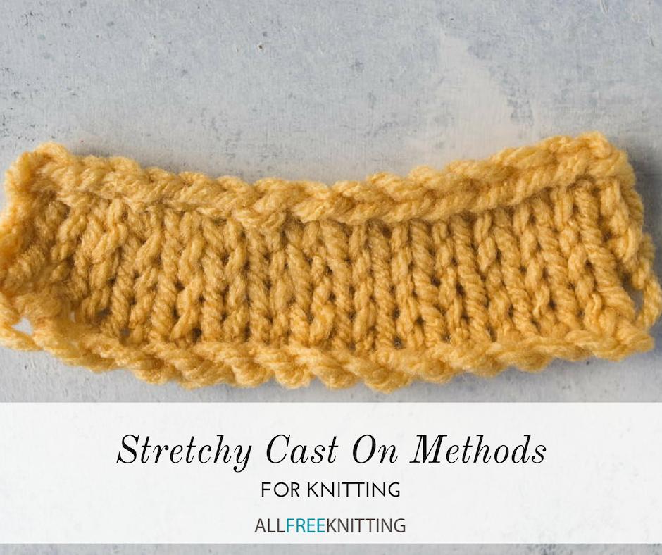 Cast On Knitting, Knitting