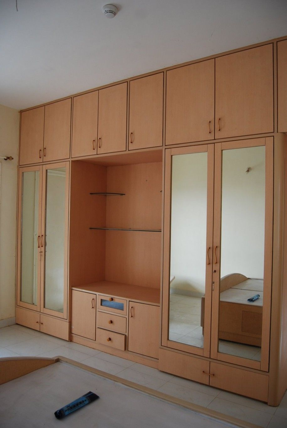 Built In Wardrobe Around Bed  Google Search  Furniture Ideas Adorable Latest Almirah Designs Bedroom Design Decoration