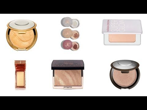 MY FAVOURITE HIGHLIGHTERS! YouTube in 2020 How to