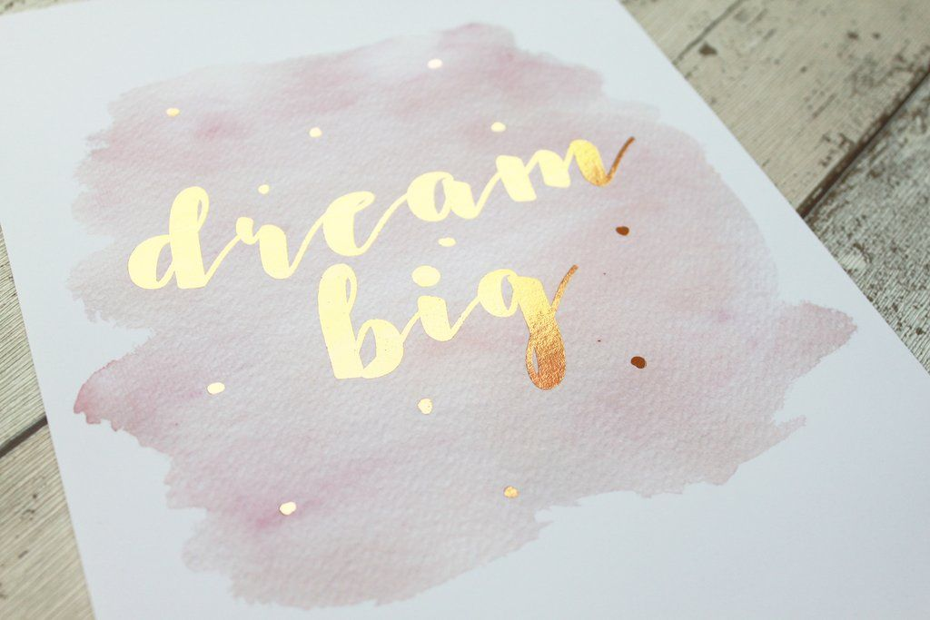 Diy Gold Foil Printing At Home How To Make A Gold Foil Print