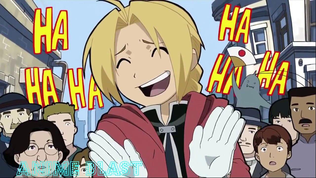 Funny Moments of Edward Elric I Anime Blast YouTube