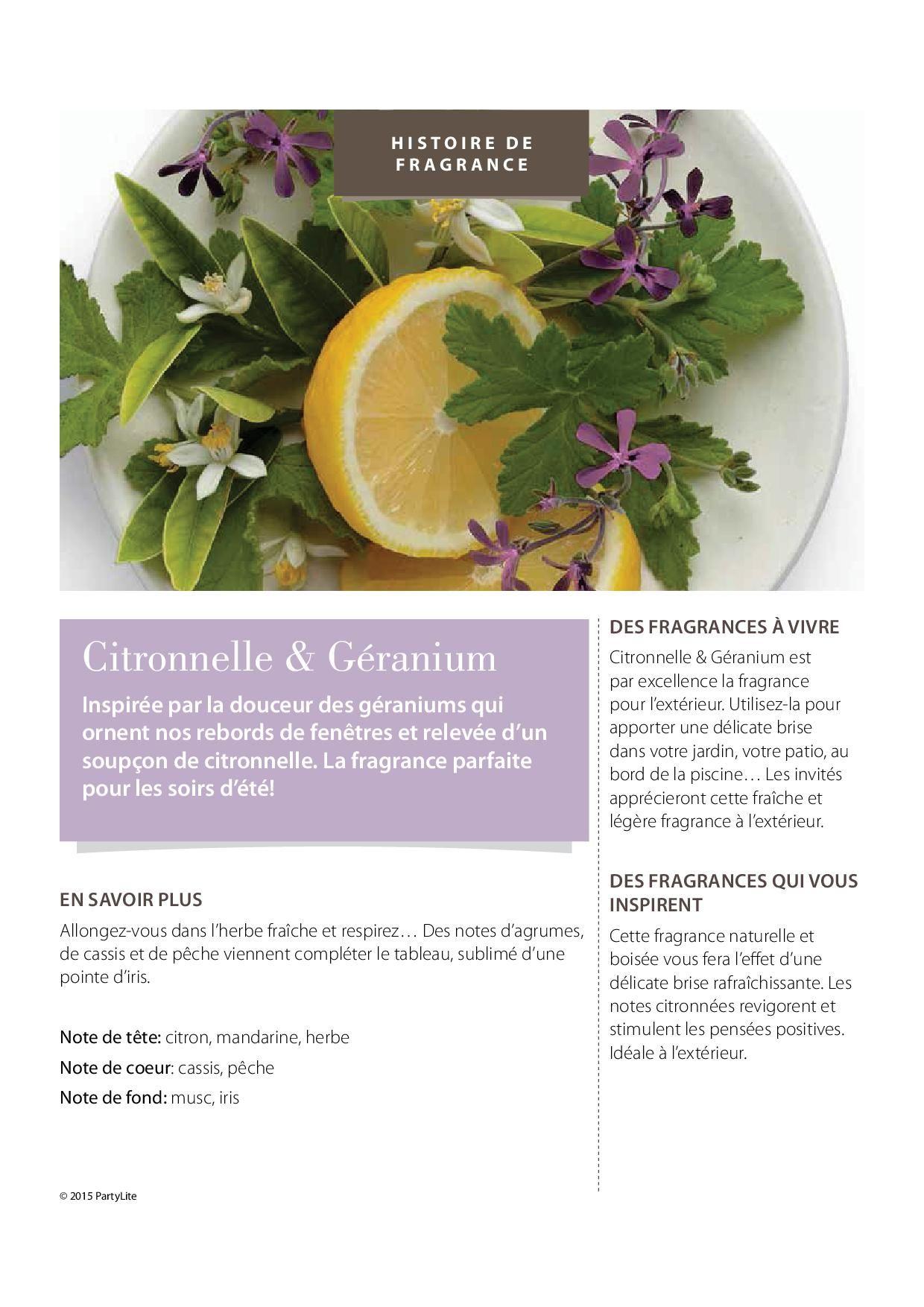 #citronnelle #géranuim