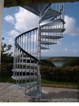 Best Galvanised Steel Exterior Escaleras In 2019 Staircase 400 x 300