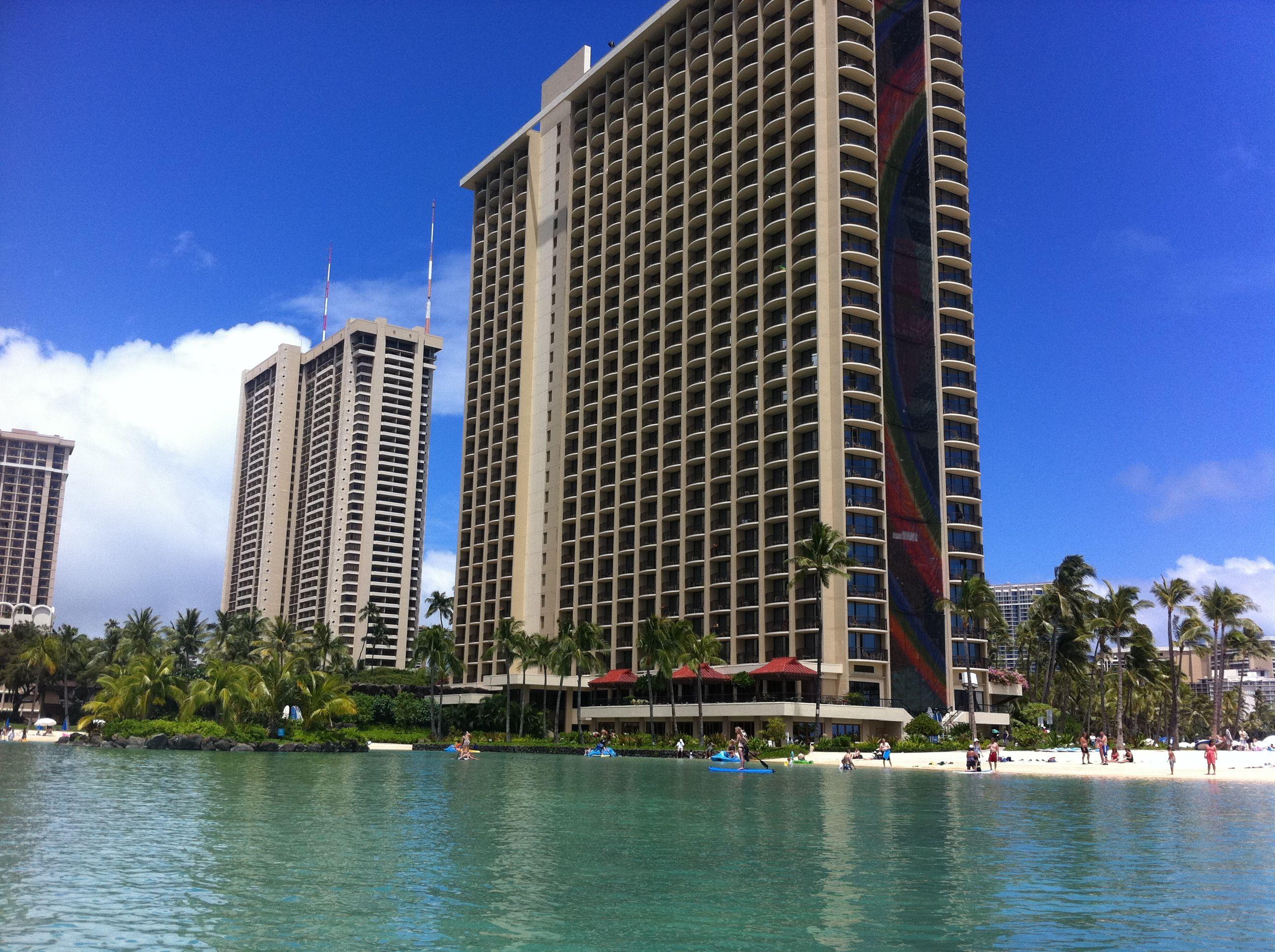 Hilton's Hawaiian Village on Oahu. I took this photo in 2011.