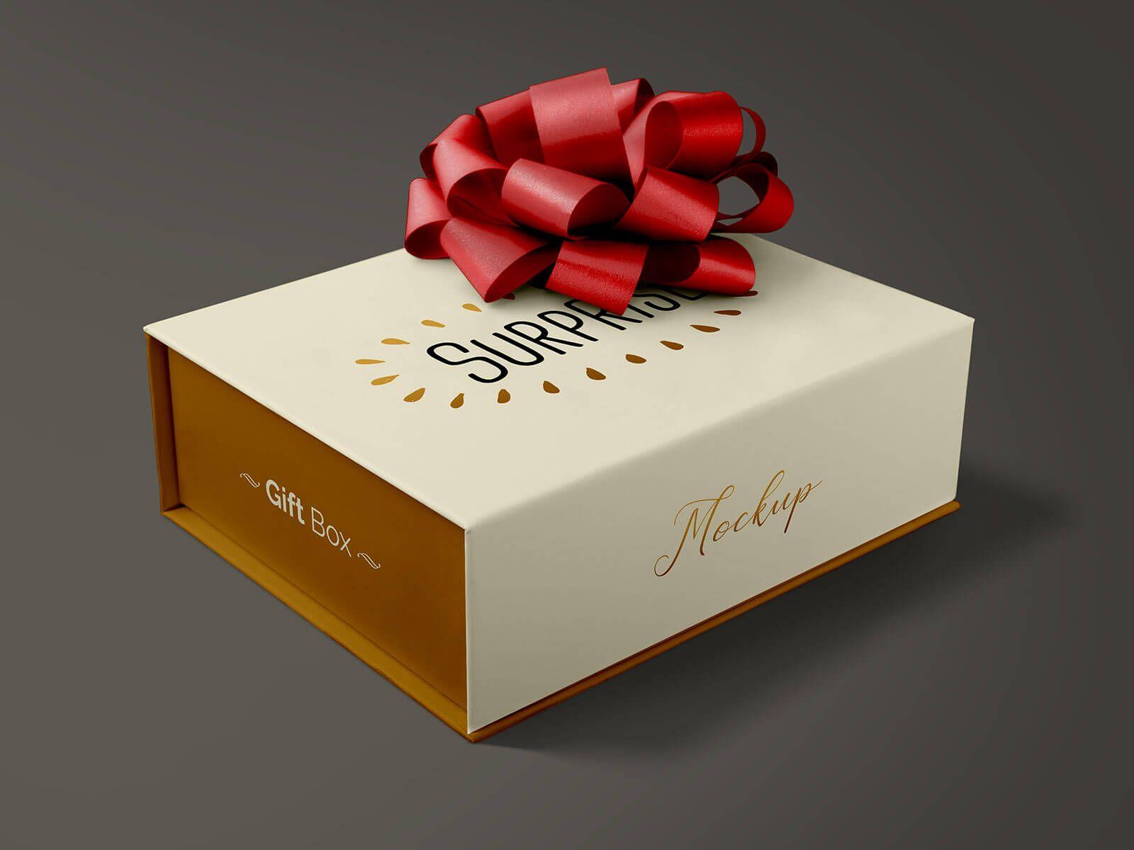 Download Free Gift Packaging Box Mockup Psd Good Mockups Box Mockup Box Packaging Gift Packaging
