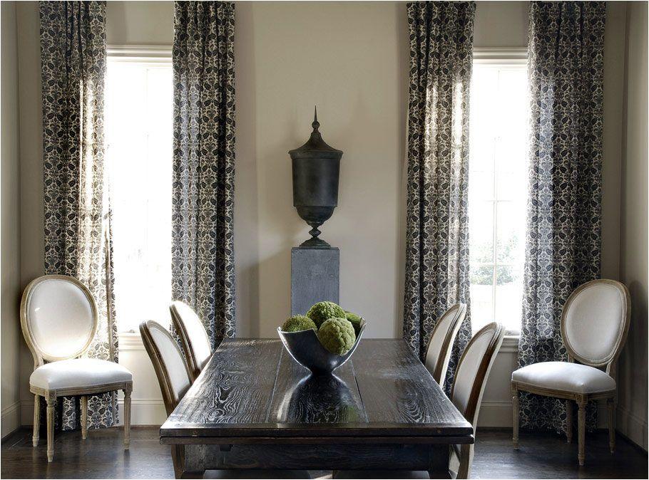 Cf9 Jpg 910 674 Elegant Dining Room Dining Room Curtains Dining Room Windows